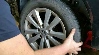 How to replace front brake pads on 2012 Honda Civic Ex-l