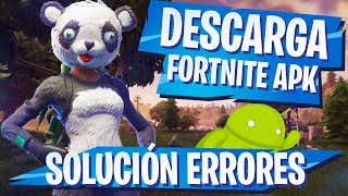 ✅ DOWNLOAD FORTNITE ANDROID APK 🔥 LATEST VERSION (HACK) 🔥 SOLUTION FREQUENT ERRORS (RAM, VPN) 🔥