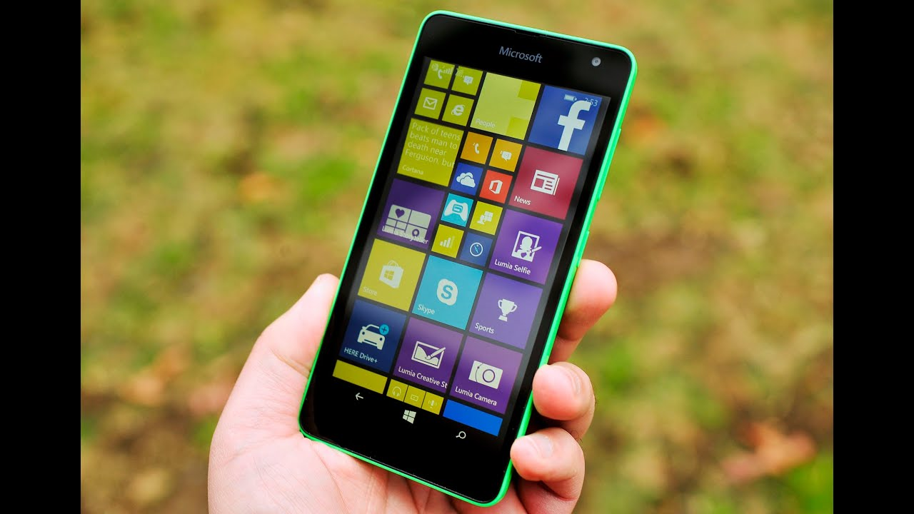 services how to use microsoft lumia 535 the