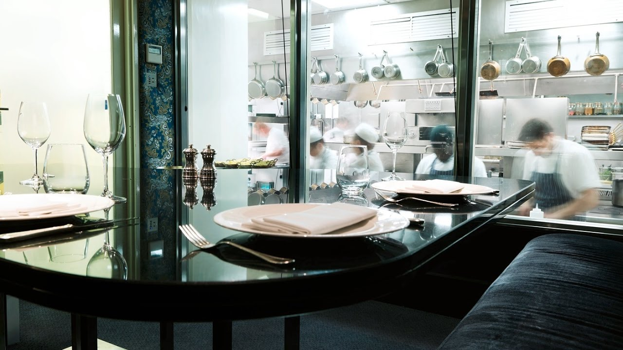 Savoy Grill Kitchen Table