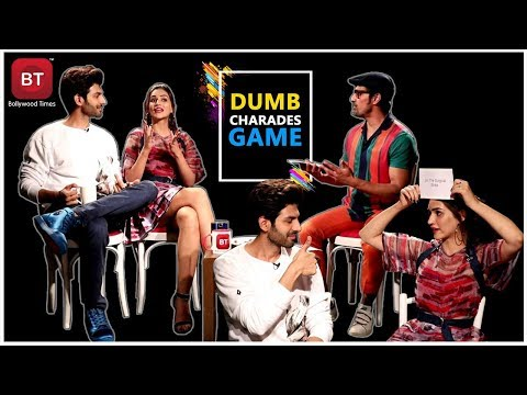 Luka Chuppi Starcast Kartik Aaryan & Kriti Sanon Played Fun Filled Action-Packed Dumb Charades Round Mp3