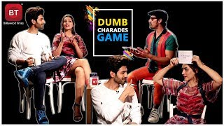Luka Chuppi Starcast Kartik Aaryan \u0026 Kriti Sanon Played Fun Filled Action-Packed Dumb Charades Round