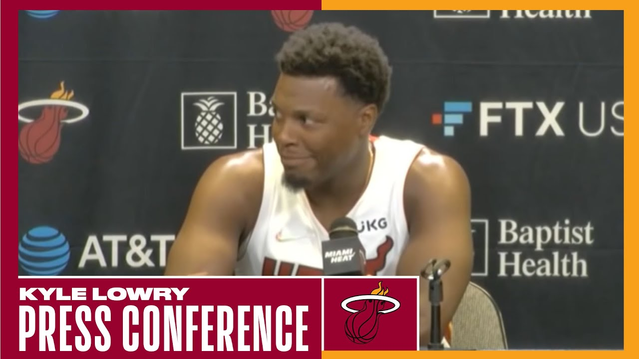 Download Kyle Lowry Full Interview Heat #NBAMediaDay
