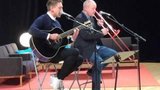 Danny Saucedo och Nils Landgren, Karlstads Universitet 2015 11 24