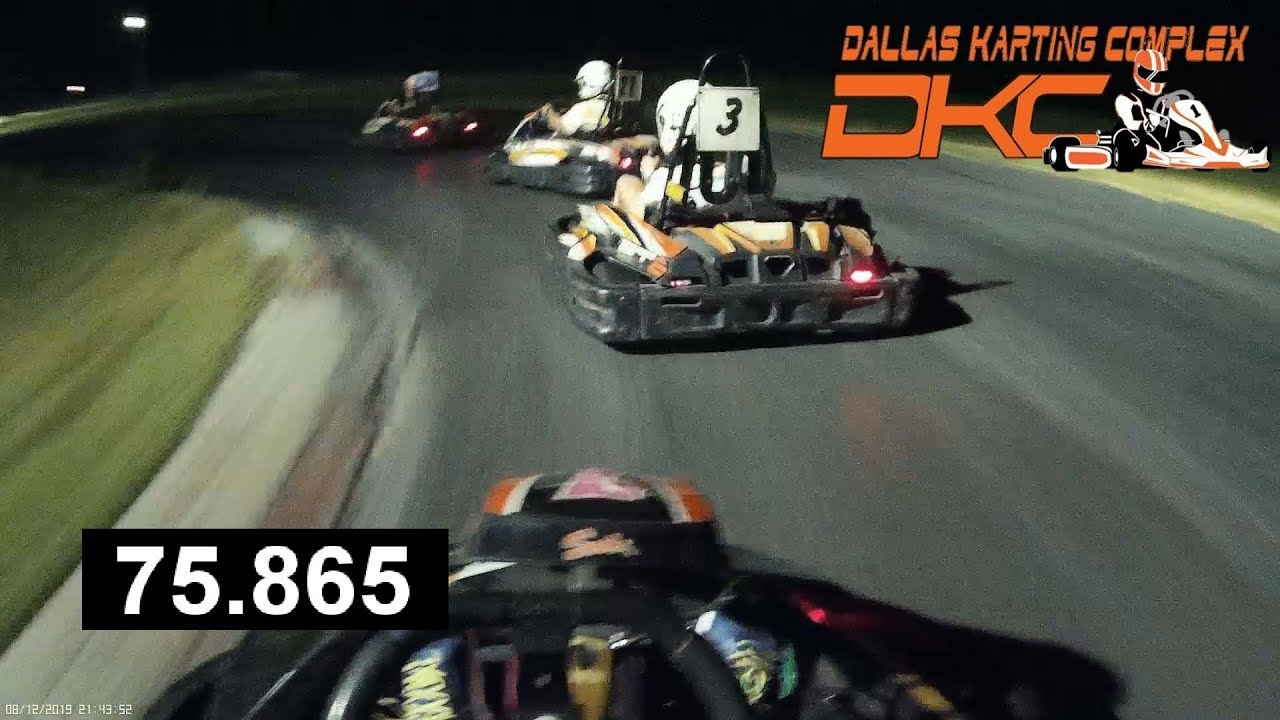 Dallas Karting Complex >> 60mph Racing At Dallas Karting Complex Highlight Battles Passes Fastest Lap Time 75 865