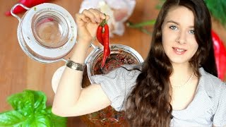 Грузинская аджика из острого перца - видео-рецепт
