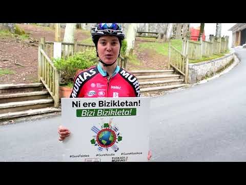 """Cristina Martínez: """"La bicicleta es con lo que más disfruto día a día"""""""