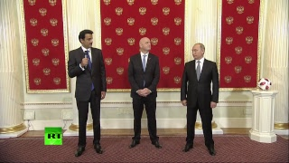 Церемония передачи Катару эстафеты проведения ЧМ-2022