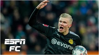 Erling Haaland scores a hat trick in Borussia Dortmund debut: Where does he go from here? | ESPN FC