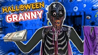HALLOWEEN COSTUME SHOPPING WITH GRANNY!!! | Granny The Mobile Horror Game (Mods)