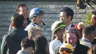 【武豊騎手】パドックにてインティ号の関係者と・・・ 第36回フェブラリーステークス(GⅠ) ☆優勝☆