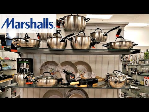MARSHALLS SHOP WITH ME COOKEWARE ALL-CLAD STAUD LE CREUSET NAME BRAND HOME KITCHEN IDEAS 2018