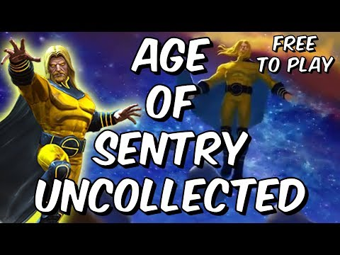 Age Of Sentry Uncollected Free To Play Completion FT Killer Beezy - Marvel Contest Of Champions