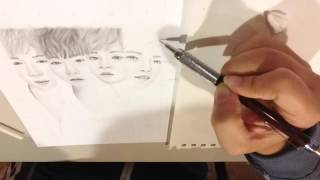 Wanna One | Speed Drawing