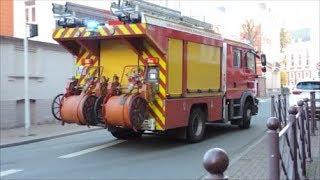 [Sonnerie de départ] SDIS 59 Départ VSAV1 et FPT1 Sapeurs-Pompiers Lille