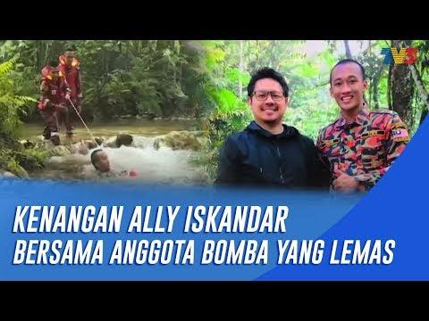 KENANGAN ALLY ISKANDAR BERSAMA ANGGOTA BOMBA YANG LEMAS|MHI (8 Oktober 2018)
