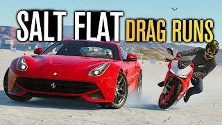 Salt Flat DRAG RUNS in The Crew 2! (Street Edition!)