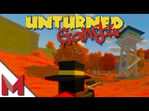 RUSSIA AIRPORT AND FIREWATCH TOWERS -=- UNTURNED GANGZ GAMEPLAY -=- S2E8