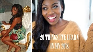 20 THINGS I'VE LEARNT IN MY 20'S Thumbnail