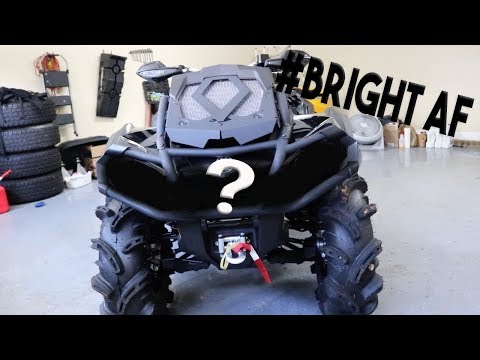 CANAM OUTLANDER 1000 XMR IS GONNA BE LIGHTING UP THE TRAILS NOW!!