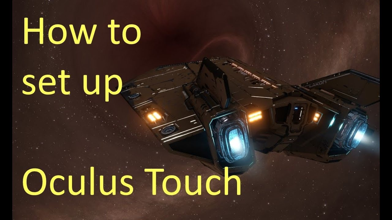 How to set up Oculus Touch Controllers in Elite Dangerous