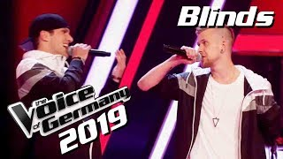Kool Savas feat. Nessi - Deine Mutter (Danny & Phillip) | Preview | Voice of Germany 2019 | Blinds