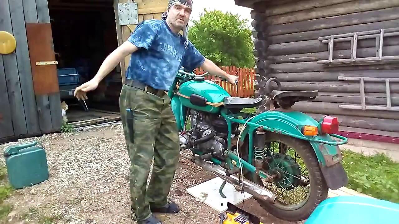 как починить мотоцикл урал ютуб этом разделе сайта