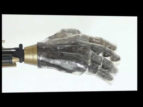 The smart skin that could give prosthetic hands a sense of touch - and is sensitive enough to let