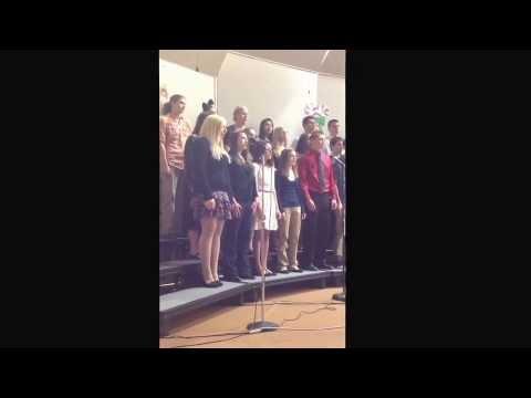 God Rest You Merry Gentlemen performed by the Bowler High School Choir - December 15, 2013