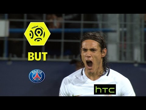 But Edinson CAVANI (12') / SM Caen - Paris Saint-Germain (0-6) -  / 2016-17