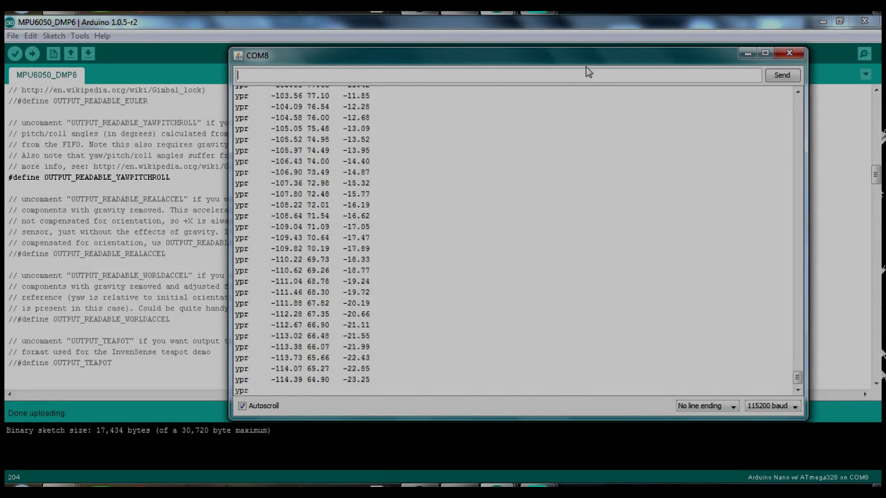 Mpu-6050 (Gy-521) Arduino Dmp Tutorial And Calibration  Tinker Guy 03:23 HD