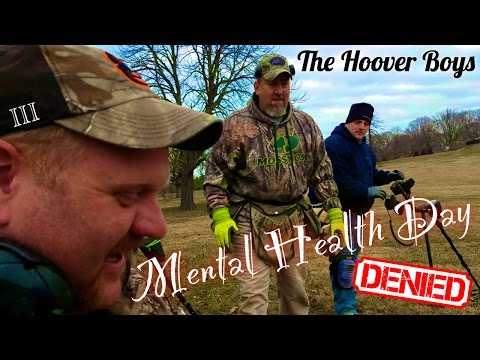 XP Deus Low & Slow Metal Detecting | Mental Health Day