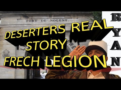DESERTERS STORY FRENCH FOREIGN LEGION INTERNATIONAL ADVERTISEMENT