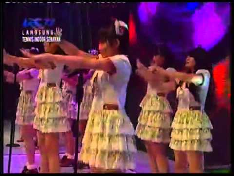 JKT48 - Heavy Rotation @AMI AWARDS 2012 RCTI 04-07-2012