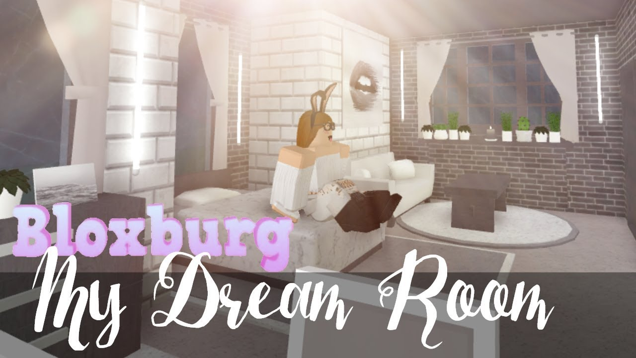 Bloxburg my dream bedroom youtube for Create my bedroom