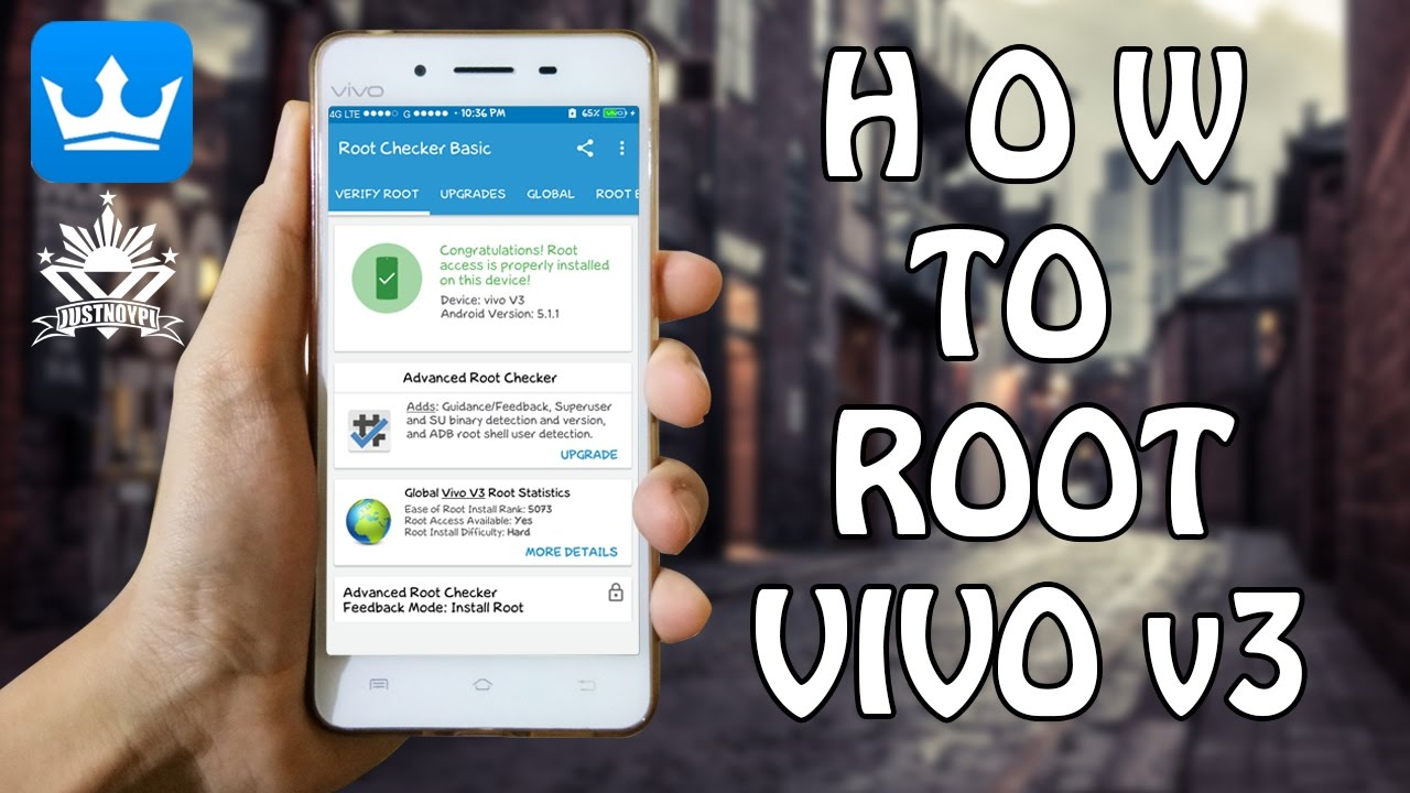 How to root vivo v3