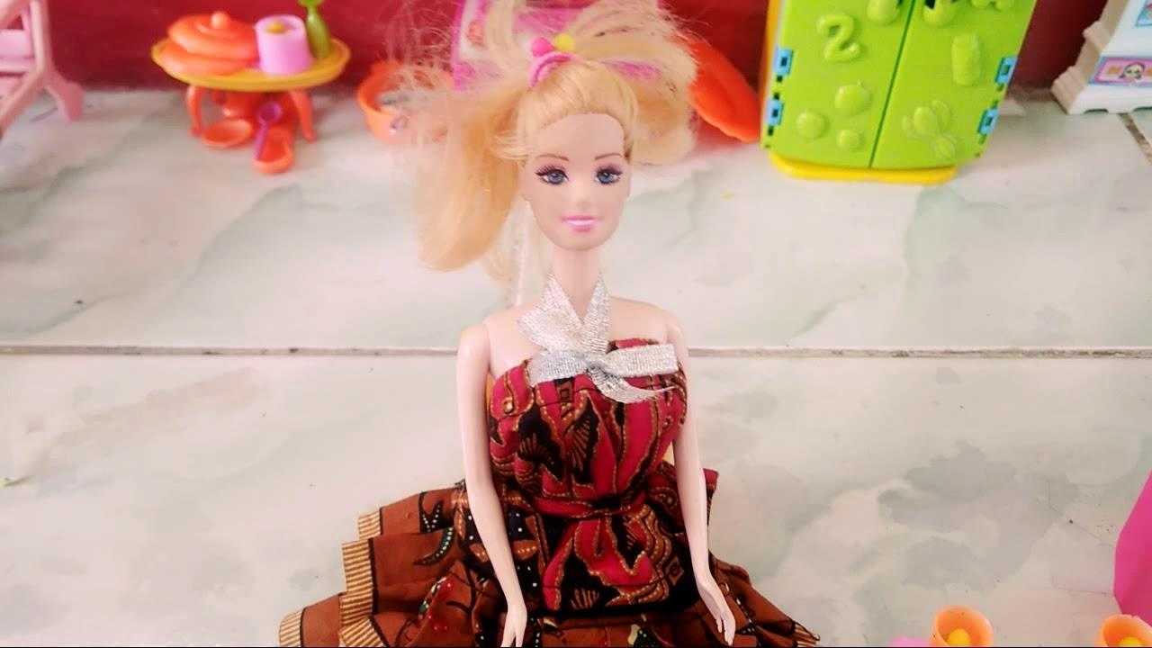 Barbie Masak Nasi Goreng Youtube