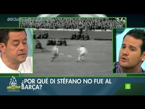 """El Chiringuito - Tomás Roncero: """"Alfredo Di Stéfano se sintió abandonado por el FC Barcelona"""""""