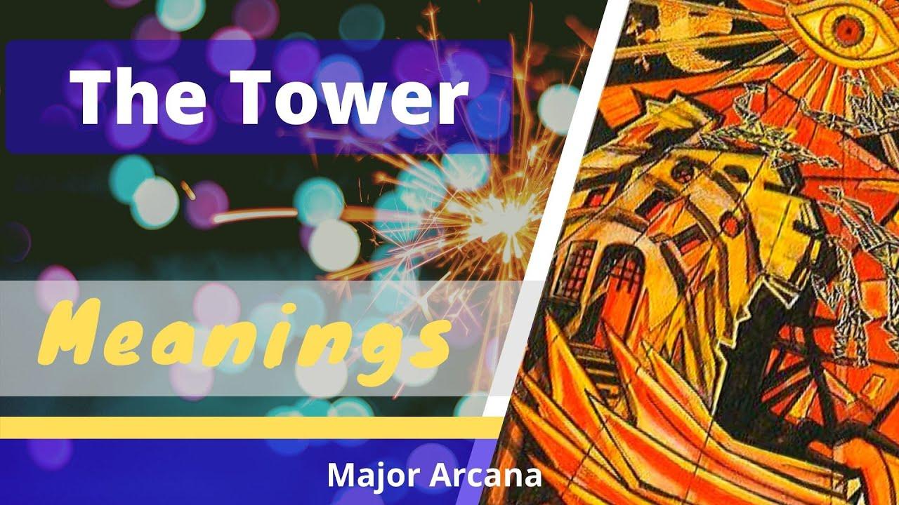 16 The Tower XVI – Thoth Tarot Crowley