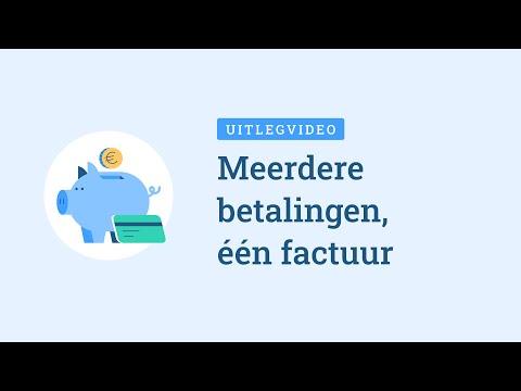 meerdere betalingen voor factuur