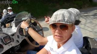 La 'Mille Miglia' in Umbria: i passaggi per Perugia e Terni