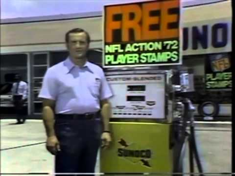 Don Shula Sunoco Commercial 1972