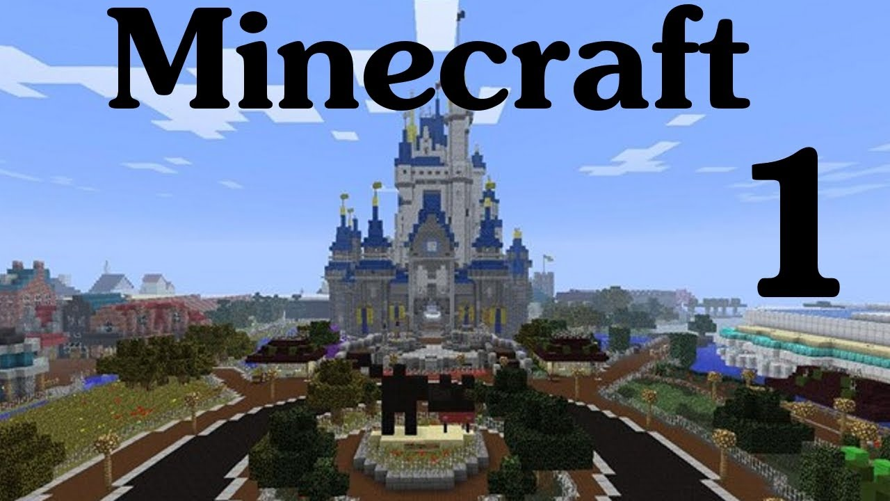 Minecraft disney world ep 1 entering the magic kingdom youtube gumiabroncs Image collections