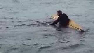 Kayak Demo - West Greenland Style