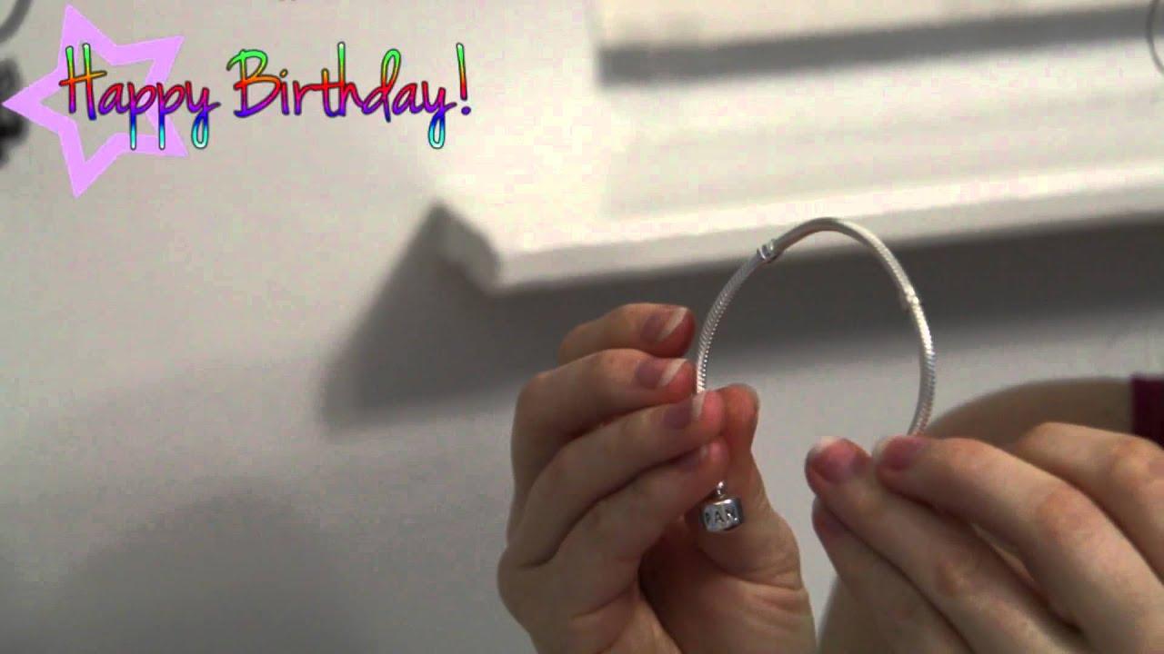 429725d007357 Браслет Pandora из серебра с замком p-lock видеообзор | BeautyGuild ...