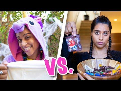 Halloween As An Adult vs A Kid