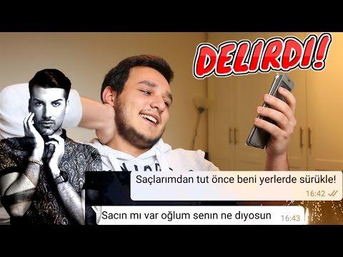 Anneme Şarkı Sözleriyle Mesaj Şakası Kerimcan Durmaz Tolqa 'Vur Bana' (DELİRDİ!)