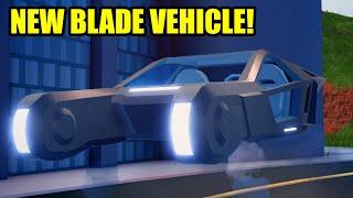 NEW BLADE VEHICLE Coming to Roblox Jailbreak!