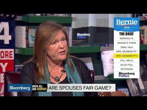 Jane Sanders Says Attacks on Heidi Cruz