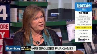 Jane Sanders Says Attacks on Heidi Cruz's Looks Are 'Ridiculous'